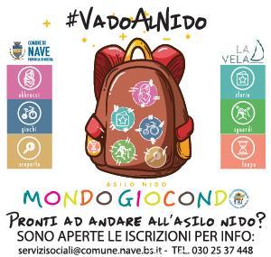 ISCRIZIONI ASILO NIDO MONDOGIOCONDO - ANNO EDUCATIVO 2019/2020