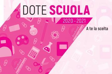 DOTE SCUOLA ANNO SCOLASTICO 2020/2021