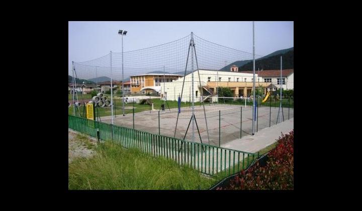 Campo di beach volley presso l'Oratorio di Muratello in Via San Francesco