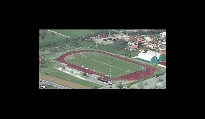 Campo di calcio e pista di Atletica leggera in Via Capra