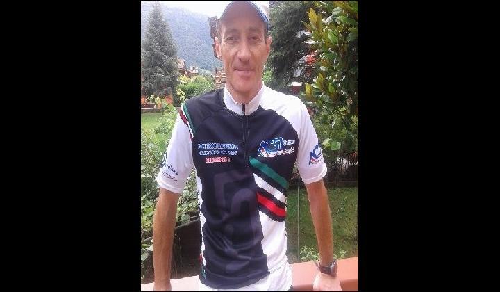 Alberto Corsini, campione italiano categoria gentlemen