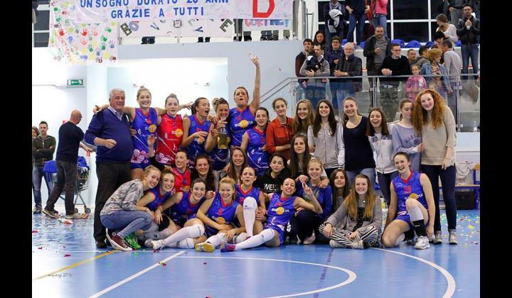 A.S.D. CORTINE BOVEZZO VOLLEY Complimenti alla squadra di 1^ Divisione femminile per la promozione in SERIE D