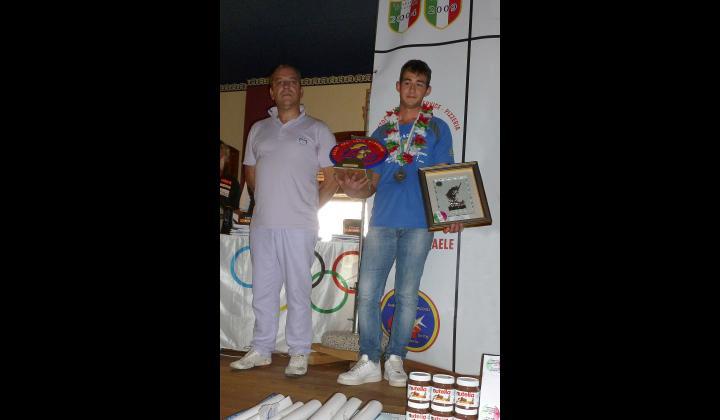 Campionato Nazionale Under 23 di pesca sportiva di S. Pietro in Gu (Padova). Complimenti a Michele Bresciani, giovane navense che ha conquistato il 2° posto
