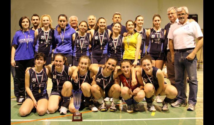 Cortine Bovezzo Volley. Squadra Under 16 - Campione Provinciale del Trofeo Primavera