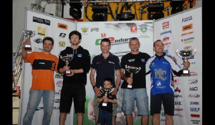A.S.D. MOTO CLUB NAVE. Giordano Rossi vincitore della Coppa Italia 2012 di Enduro Categoria Major