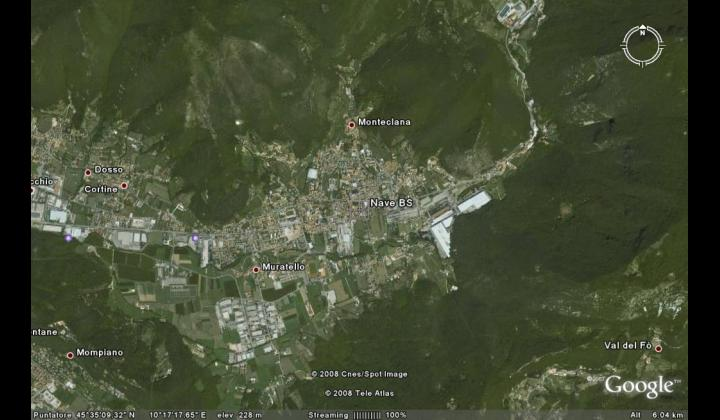 Vista di Nave (GoogleEarth)