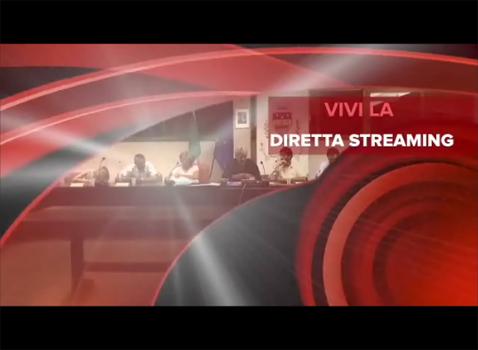 streaming Consigli Comunali
